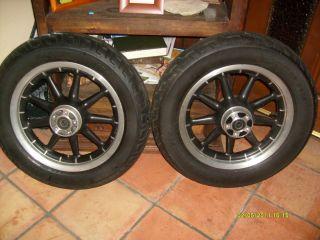 Harley Wheels Rims Tires 9 Spoke Road King Touring Streetglide
