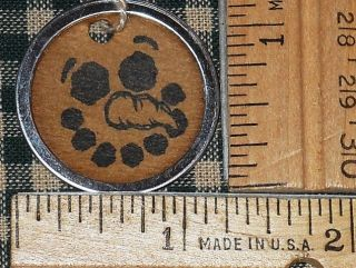 SMALL ROUND METAL RIM ~ SNOWMAN PRIMITIVE HANDMADE HANG TAGS LOT (279