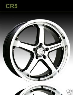 Katana Wheels 18 inch CR5 Machined w Toyo Tire Package