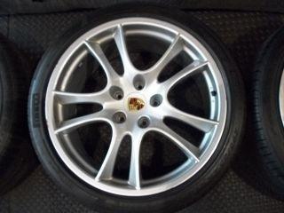 Factory Cayenne 21 GTS Wheels Rims Tires Pirelli 295 35 21