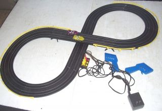 TYCO Mattel Hot Wheels HO Slot Car Electric Racing Set with 2 Mill