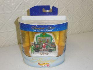 Hot Wheels Rudolphs Racer Reindeer Racing Holiday Vehicles Christmas