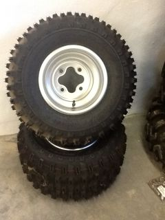 REAR WHEELS TIRES TRX450R LTZ400 LTR450 450R 400EX 250R 300EX 250X TRX