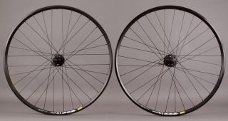 317 29er Wheelset Shimano XT Disc Brake Hubs Wheels Black Rims