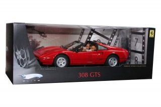 ELITE FERRARI 308GTS 308 GTS MAGNUM PI TV SERIES 1 18 RED P9908 SEALED