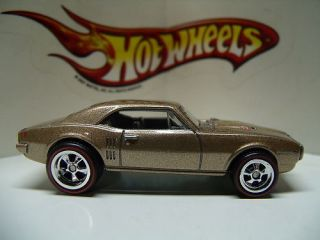 2011 Hot Wheels Garage Real Riders Loose 1967 Pontiac Firebird 400 Red