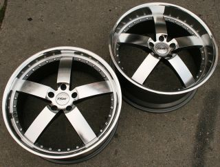 TSW Vairano 20 Gunmetal Rims Wheels SC300 sc400 Staggered 20 x 8 5 10