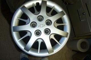 2003 11 Impala 04 05 Monte Carlo Hubcap Silver Bowtie Painted