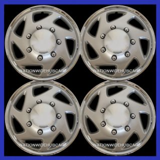 Truck Van 16 8 Lug Full Wheel Covers Hub Caps Steel Rim 7 Slot