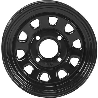 Sportsman 330 400 500 600 700 800 12 ITP Delta Black Wheels