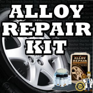 Alloy Wheel Rim Scuffs and Scrapes Repair Kit