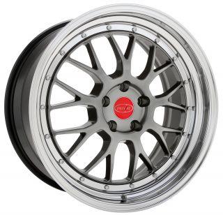 18 Privat Akzent Rim 5x114 3 Wheels Fit Scion XB Civic SI RX7 300zx