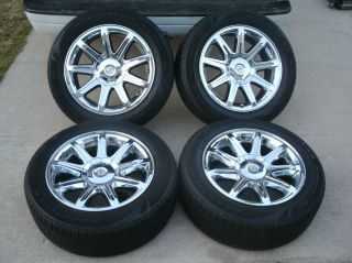 18 Chrysler 300 Factory Chrome Clad Wheels Tires 300C 2005 2012