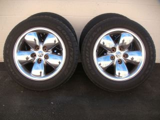 Factory Dodge RAM SLT Pick Up 1500 20 Chrome Wheels Tires