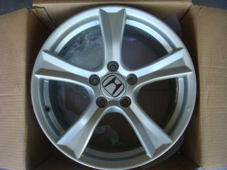 Honda S2000 17 2008 2009 Factory Rim Rear Wheel Silver Rear 63941