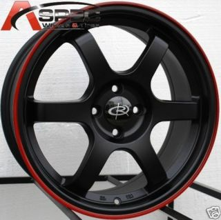 15 Rota Grid Rim 4x100 Wheels Civic CRX Miata MX3 323