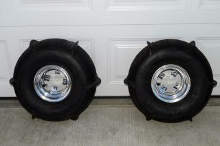 Paddles Comp Tires and Wheels Douglas Machined Rims YFZ Raptor 700