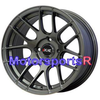 15 15x8 25 XXR 530 Gun Metal Concave Rims Wheels Stance 02 4x100 Honda