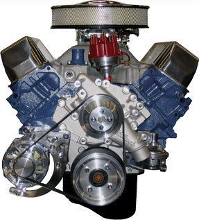 460 550 HP Carbureted Crate Engines Mustang Engines