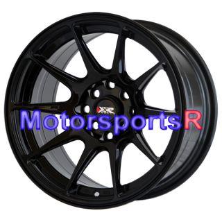 25 XXR 527 Gloss Black Wheels Rims Concave Stance 4x100 90 Mazda Miata