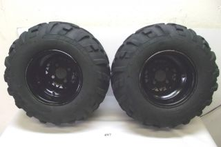 Polaris Trail Boss 330 2x4 ATV Rear Tires Wheels 06 2006