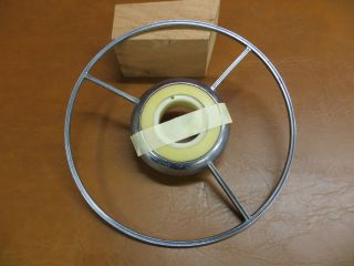 Chris Craft Boat Steering Wheel Horn Rim