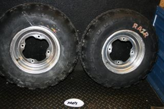 2001 Yamaha Raptor 660 YFZ450 Front Wheels Tires Rim