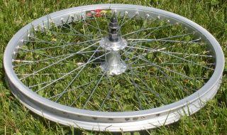 Old School BMX Hutch Trickstar Alexrims 7X24D 406x24 20 Front Wheel