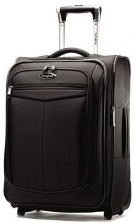 Black Samsonite Silhouette 12 Collection 21 Upright Wheeled Carry on