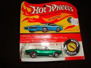 Hot Wheels REDLINE1967 Custom Firebird Green BP Blister Pack