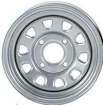 400 420 450 500 Rancher Foreman Rubicon 12 ITP Silver Wheels