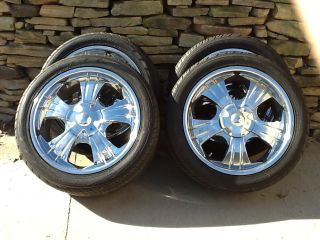CHRYSLER 300 20x8 5 WHEELS TIRES DUBS CHARGER MAGNUM CHALLENGER 5X115