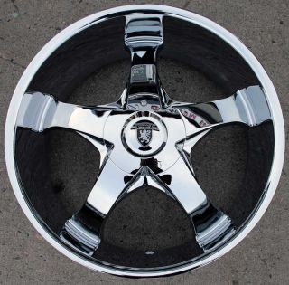 Von Max VM04 22 Chrome Rims Wheels Impala Caprice Chevrolet 22 x 9 5