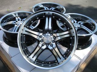 17 Black Wheels Rims Impreza Celica Prius Caliber Mustang S2000 azera