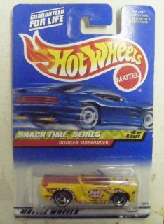 Hot Wheels Snack Time Series Dodge Sidewinder