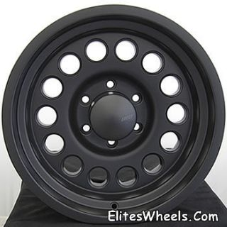 15 inch black wheels rims 5x5 5 american eagle jeep ford classic sale