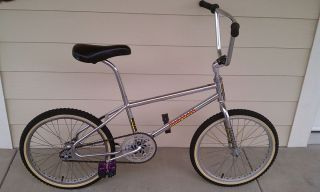 Expert Vintage Old School BMX Bicycle Bike with Pro Class Rims