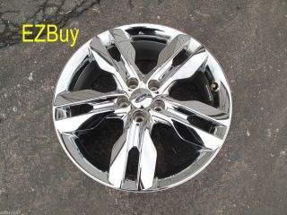 2011 2012 Factory Original Chrome Clad Wheel Rim 3847 Cap TPMS