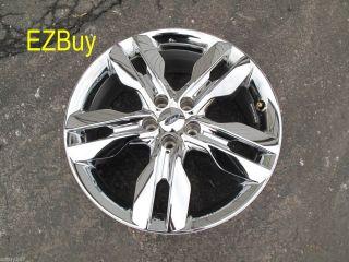 2011 2012 Factory Original Chrome Clad Wheel Rim 3847 Cap TPMS