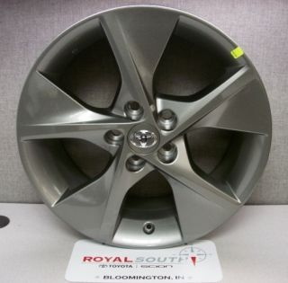 Toyota Camry SE Charcoal Gray Gun Metal Silver 18 Wheel Genuine OE