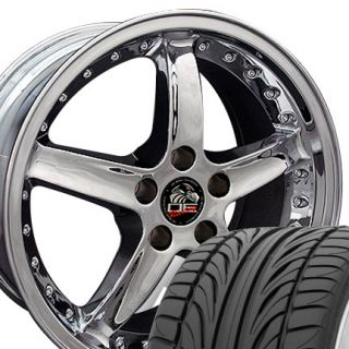 05 Chrome Wheels Falken 452 Tires 20x8 5 Rims Fit Mustang®