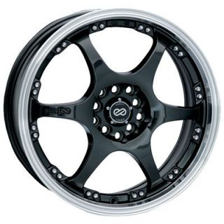 16 Enkei ES6 Gunmetal Rims Wheels Civic SI Integra CRX