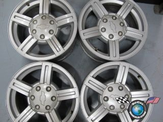07 Chevy GMC Colorado Canyon Factory 17 Wheels OEM Rims 5184 9593982