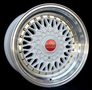 15x8 15 Wheels 5x100 ESM 002R VW SUBARU SCION TOYOTA EAGLE GEO PONTIAC