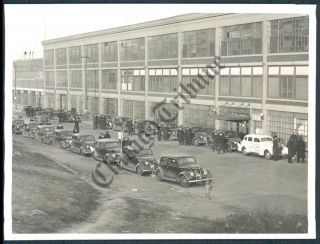 Ct Photo AMH 628 Ford Motor Company Kansas City Strike 1937