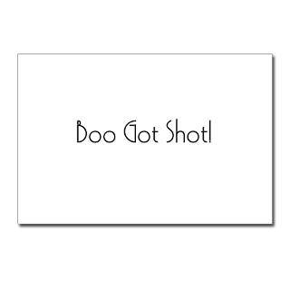 Boo Got Shot Postcards (Package of 8)
