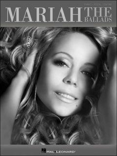 Hal Leonard Mariah Carey The Ballads P V G