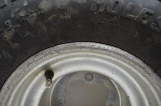 Yamaha YFZ450 Rear Wheels Rims 20 Holeshot Tires Raptor 660 700