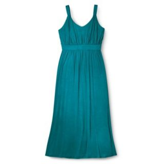 Merona Womens Plus Size Sleeveless V Neck Maxi Dress   Monteray Bay 4