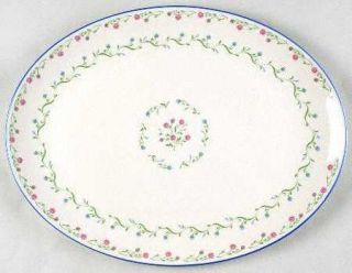 Gorham Southern Charm 13 Oval Serving Platter, Fine China Dinnerware   Town & C